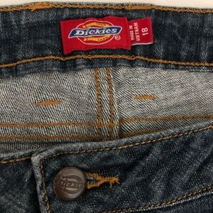 Dickies Girl Womens Relaxed Bootcut Jeans Size 18